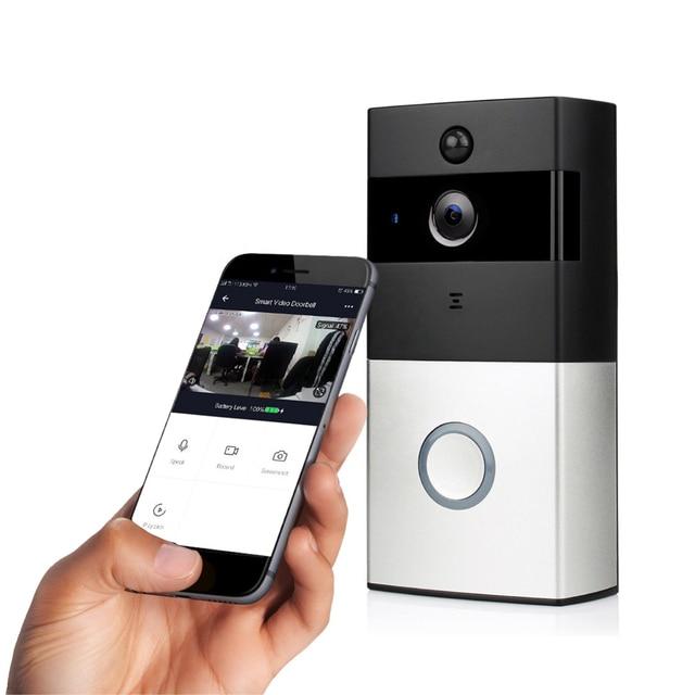 YOHEEN Smart IP Video Intercom Wifi Deurbel Tuya App Ondersteuning Amazon Alexa Smart Home Draadloze Beveiliging Video Deurbel Camera 1