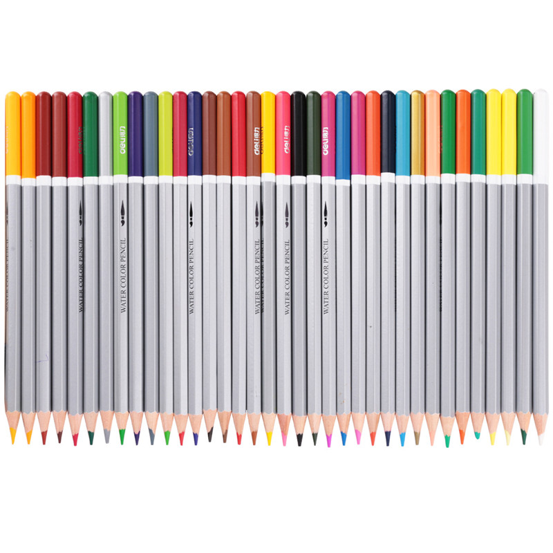 DL 6518  drawing  24 color brush water soluble coloring painting  pencil paper box  Stationery office supplies for studentsDL 6518  drawing  24 color brush water soluble coloring painting  pencil paper box  Stationery office supplies for students