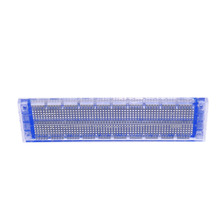 Бесплатная доставка! Привет-q НСБ-120 прозрачный синий макет длиной 17.7 см