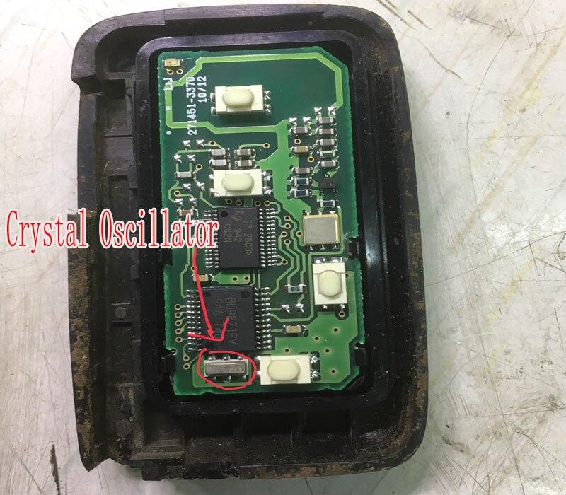Crystal Oscillator For Toyota Smart Key