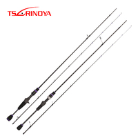 TSURINOYA ELF AJING Fishing Rod 1.8m 2.25m 2.46m 2 Section Ultra Light Spinning Casting Rod FUJI Accessories Carbon Lure Rod