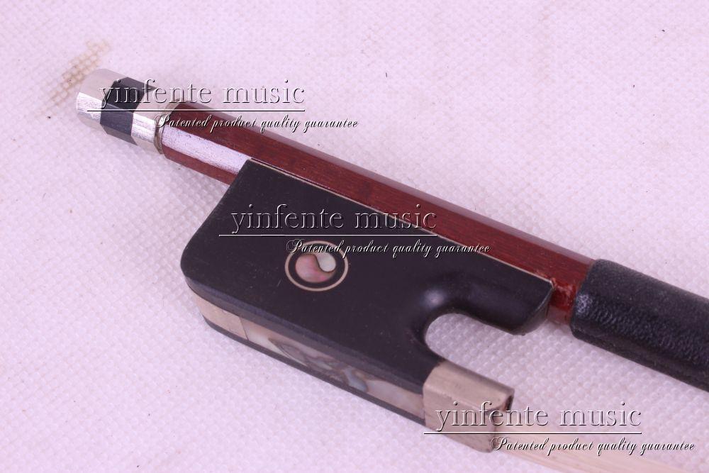 1 pcs Cello Bow  Brazil wood Ebony fro g High Quality New #DT- good  4/4  66#  3 4 cello bow carbon fiber round stick ebony fro g high quality new dt 041