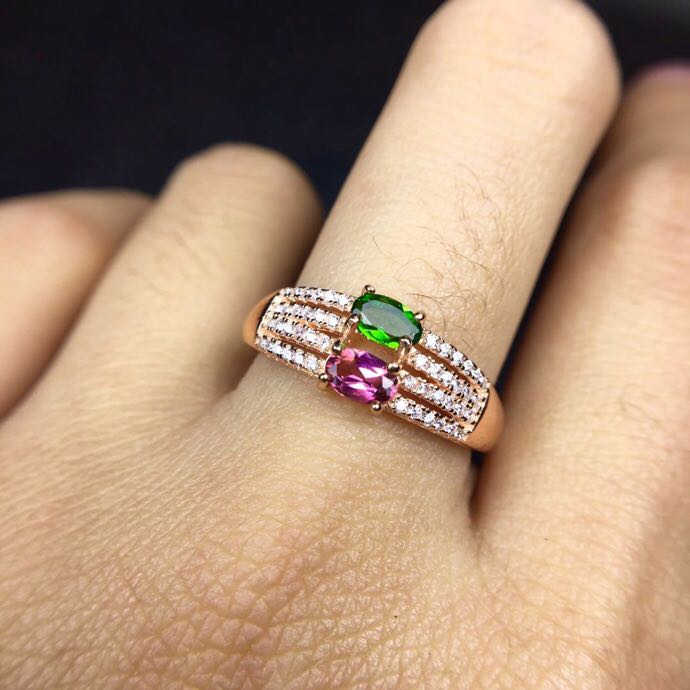 Natural real tourmaline ring Free shipping 925 sterling silver Handworked rings For men or women natual tourmaline charms pendant free shipping 925 sterling silver natural real tourmaline