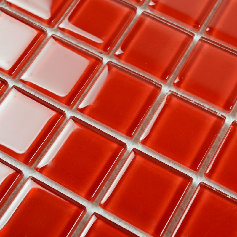 Kitchen Design Red Tiles amazing red kitchen tile contemporary - home decorating ideas