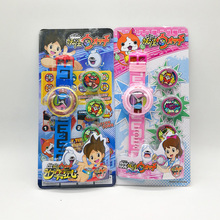 New Japanese Anime Yokai Watch DX Yo-Kai Wrist Watch Kids Toy With 3 Medals Cosplay Birthday Gift