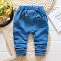 2016 Nueva Primavera de Alta Calidad de La Manera Pantalones Vaqueros de Los Niños 1-3 Años Del Bebé Pantalones de Las Muchachas