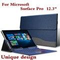 Новый высококачественный чехол для планшета для Microsoft Surface Pro 6 5 4 3 12,3 M3 Let Premium из искусственной кожи чехол для клавиатуры стилус в подарок