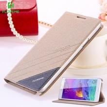 Floveme чехол для Galaxy Note 4 5 S6 S7 оригинальный бренд кожаный чехол флип для Samsung Galaxy S8 S8 + 4 Примечание 5 S6 S7 край