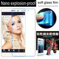 never broken Soft Glass Nano Explosion proof Screen Protector Protective Lcd Film Guard For BLUBOO Maya / Max