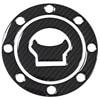 MTKRACING K-CGTCP3D Carbon Fiber Tank Gas Cap Pad Pad Filler Cover Sticker decals Fit SUZUKI GSF250 GSF400 GSX400 RF400