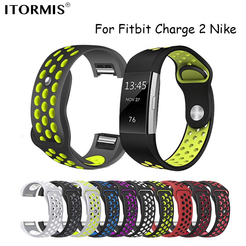 Colorful Band Straps for Fitbit Charge 2 Sport Silicone wrist Strap Fitbit Charge 2 Bracelet Smart Wristband Smart Accessories купить в Москве 2019