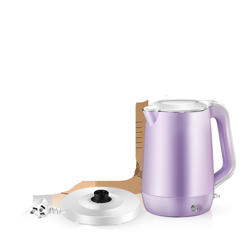 Electric kettle insulation 304 stainless steel household Safety Auto-Off FunctionElectric kettle insulation 304 stainless steel household Safety Auto-Off Function