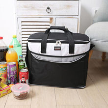 34L Large Oxford Thermal Insulation package Picnic Portable container bags The plant package Food insulated bag big Cooler bags(China)