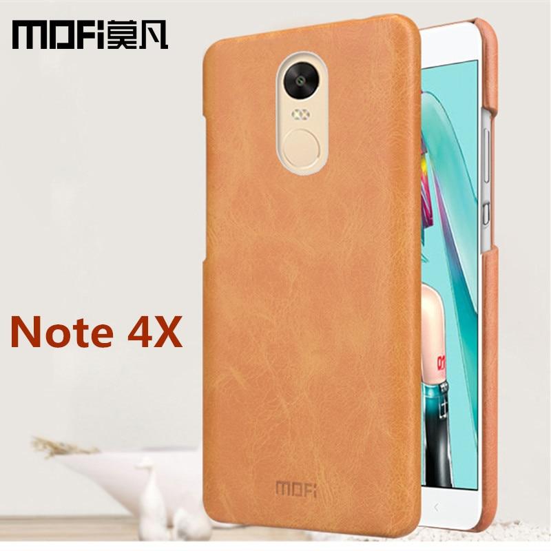 Redmi note 4x case original 5 5 inch MOFi Xiaomi Redmi note4x pro case cover leather