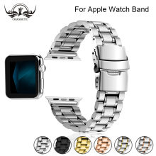 Браслет из нержавеющей стали для apple watch band 4 42 мм/38