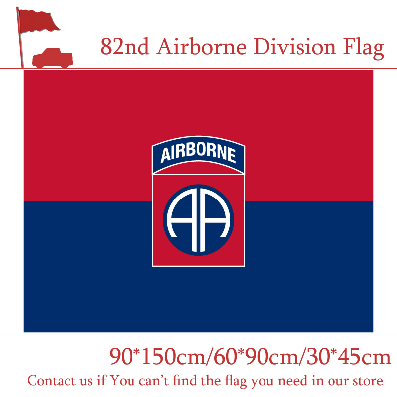 3x5ft 82nd 101st Airborne Division Flag The United States American U.S. 90*150cm 60*90cm 30*45cm Car Decoration