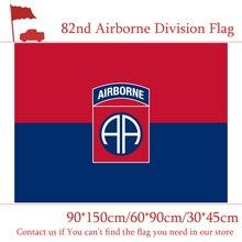 3x5ft 82nd 101st Airborne Division Flag The United States American U.S. 90*150cm 60*90cm 30*45cm Car Decoration