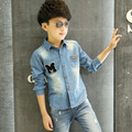 Spring Autumn Boys Clothes Children's Jacket Denim Boys Jean Jackets Kids Clothing Baby Jeans Coat Casual Outerwear