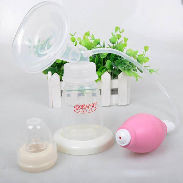 Manual de Productos Para Bebés Botella Extractor de Leche Del Pezón de La Leche Materna de Gran Fuerza de Succión Succión De Ordeño Pechos T0109