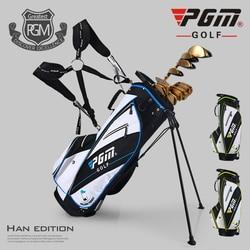 Ultra Light! PGM New Golf Bag Waterproof Men Caddy Golf Cart Tripod Rack Stuff Golf Bag Women Bracket Gun Stand Bag 14 Sockets