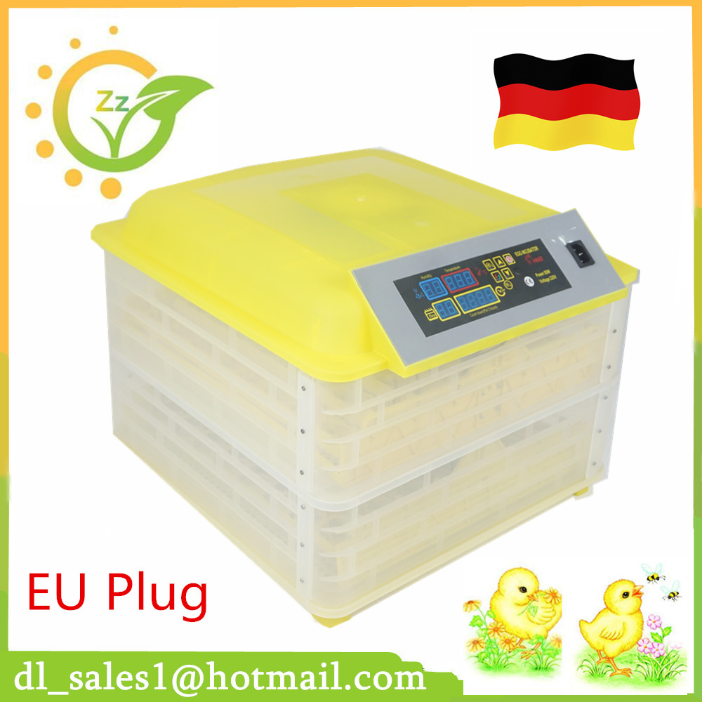 Fully Automatic Poultry Egg Incubator 96 Chicken Egg Hatching Machine free shipping by dhl 1pcs lot automatic egg incubator chicken incubator poultry hatchers 9egg