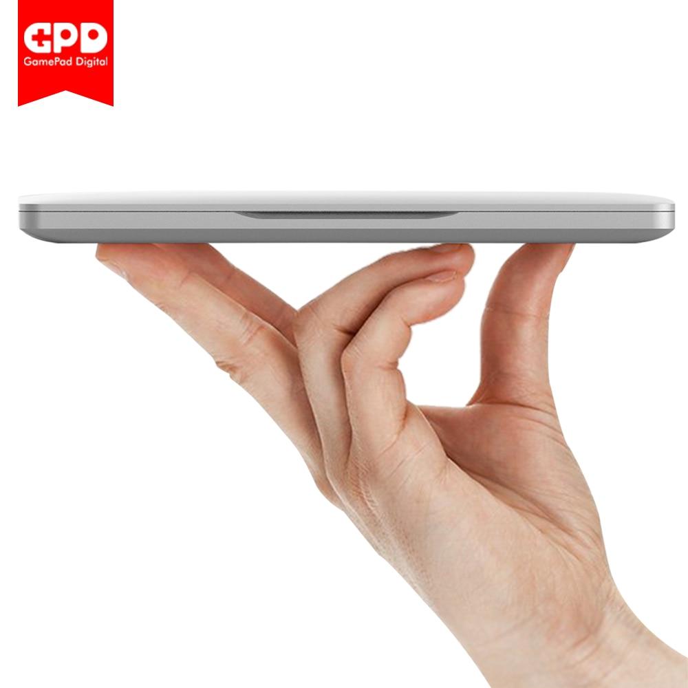 Nuovo Originale GPD Tasca 7 Pollice Mini Computer Portatile UMPC Windows 10 Sistema Guscio In Alluminio CPU x7-Z8750 8 GB/128 GB (Argento)