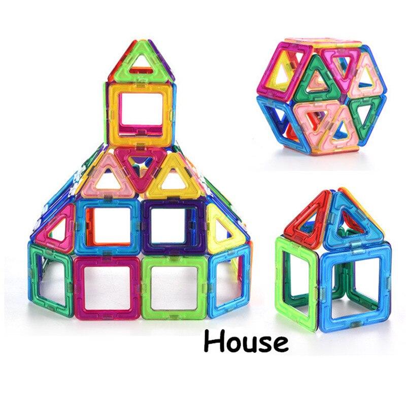 Mylitdear Big Size Magnetic Designer Construction Set Model & Building Plastic Magnetic Blocks Educational Toys For Kids Gift