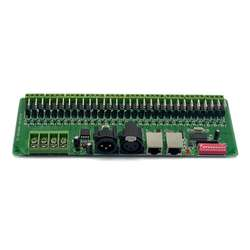 Один dmx светодиодный декодер контроллер для RGB Светодиодные ленты огни DMX512 диммер драйвер DC9-24V 2A/CH Перевозка груза падения