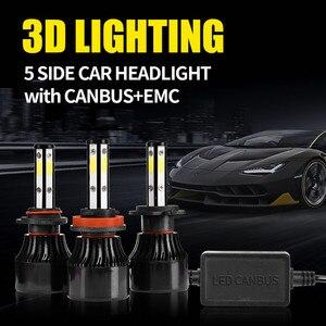 Image 2 - 2 Chiếc H4 Bóng Đèn LED H7 LED H11 H8 9006 HB4 9005 HB3 Tự Động Đèn Led Đèn Pha Ô Tô 14000LM Cao Thấp chùm Tia Đèn Ô Tô Đèn 6000K 12V