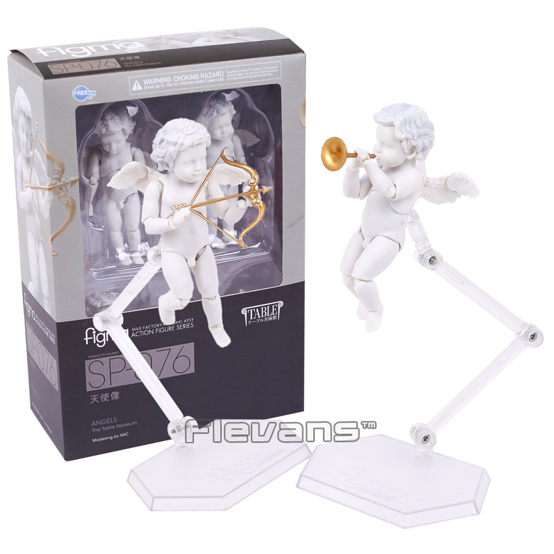 Angel  figma SP-076 The Toble Museum PVC Action Figure Collectible Model Toy 8.5cm new hot christmas gift 21inch 52cm bearbrick be rbrick fashion toy pvc action figure collectible model toy decoration