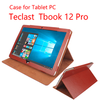 New Arrival Luxury Teclast Tbook 12 Pro Case PU Leather Case With Holder For Teclast Tbook