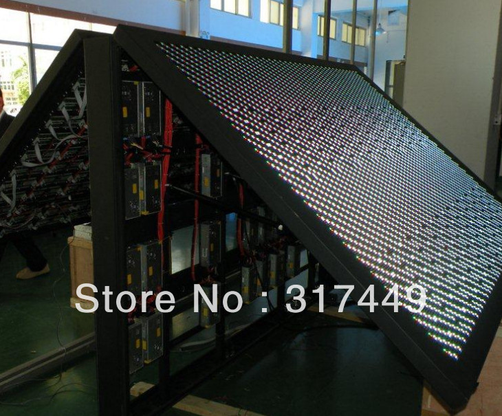 P10 RGB двухсторонний СВЕТОДИОДНЫЙ Знак 96 см x 48 см, 38 x 19, спереди открытым 2 лицо привело движущихся открытый электронные доски объявлений