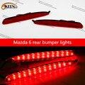 OKEEN Automóveis Da Marca Luz Da Cauda Do Carro LEVOU luz de Estacionamento Traseiro Refletor Luzes Luzes de Circulação Diurnas Led Para Mazda 6