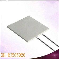 XH RP5050 ceramiczna płyta grzewcza wysokiej temperatury płyta grzewcza MCH z tlenku glinu płyta grzewcza szybkie nagrzewanie 50*50*2mm w Części do urządzeń do pielęgnacji osobistej od AGD na