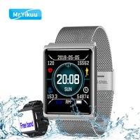 Smart Watch Bracelet N98 Color Full Screen Waterproof Fitness Tracker Clock Wristband Heart Rate Monitor Pressure For Xiaomi IOS
