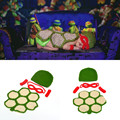 2016 Ninja Turtles Newborn Baby Photography Props Crochet Baby Cartoon Costume Crochet Infant Baby Turtle Outfit MZS-16035