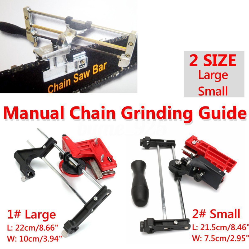 Universal Pro Chainsaw Chain File & Guide Sharpener Grinding Guide for Garden Lawn Mower Chain Saw Sharpener Garden Tools шипы спасательные rapala pro guide