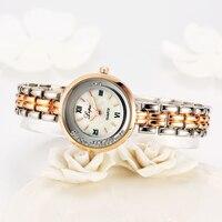 Lvpai Brand Luxury Crystal Rose Gold Dress Watches Women Fashion Quartz WristWatches Ladies Casual Business Sport Clock 2017