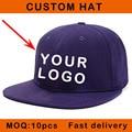 E114-10 small MOQ sizable 3D design logo custom snapback sport hat baseball customized logo cap