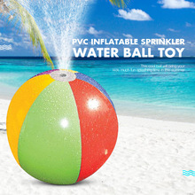 Водные шары, детские подарки, Веселый надувной распылитель воды, посыпать мяч, открытый всплеск, игрушка, горячее лето, для плавания, вечерние, для пляжа, бассейна