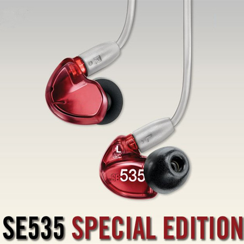 Big Pormotion! Brand SE535 Detchable earphone Hi-fi stereo Headset SE 535 In ear Earphones Separate Cable with Box VS SE215