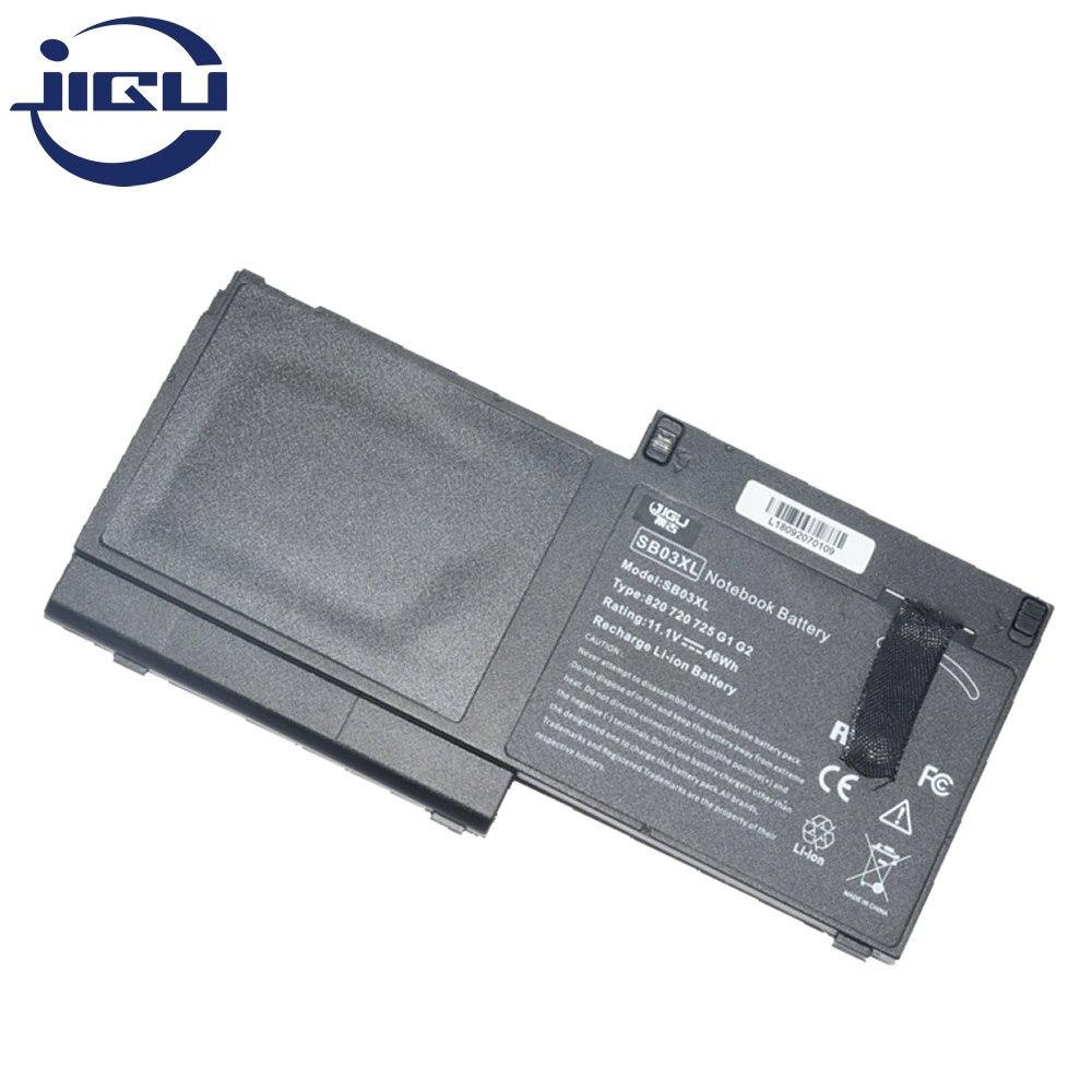 Батарея для ноутбука JIGU 11,1 V E7U25AA HSTNN-IB4T HSTNN-l13C SB03046XL SB03XL для HP EliteBook 720 G1 G2 725 820