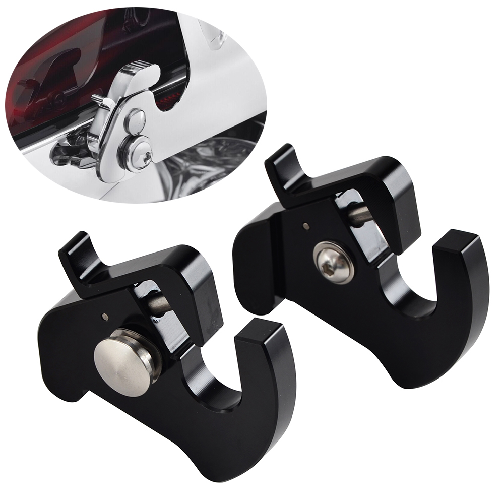 Detachable Rotary Latch Kit For Harley Touring Sportster 883 1200 Road King Road Street CVO Ultra Fat Boy XL883 XL1200 2010-2018Detachable Rotary Latch Kit For Harley Touring Sportster 883 1200 Road King Road Street CVO Ultra Fat Boy XL883 XL1200 2010-2018