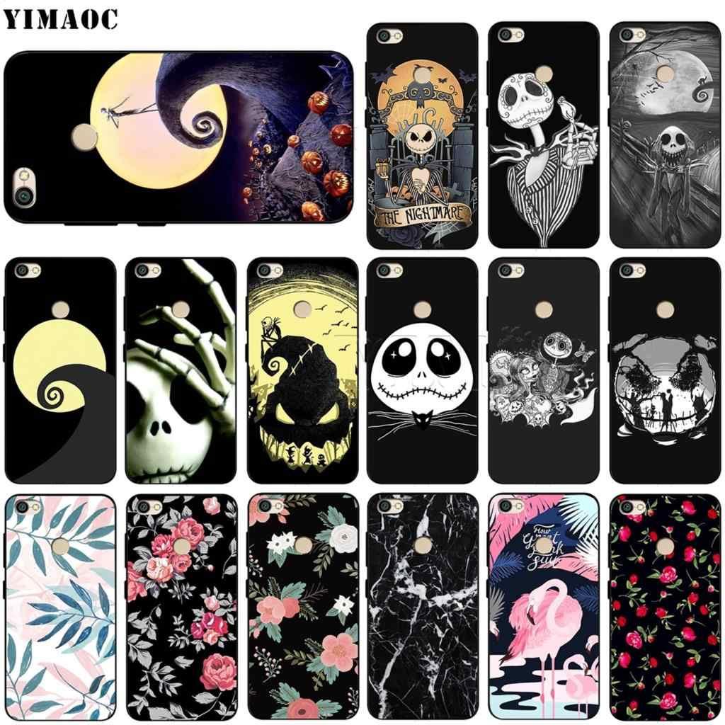 YIMAOC la pesadilla antes de funda de Navidad para Xiaomi Redmi Note MAX 3 6a 6 7 8 9 iPhone 6 8 a1 a2 Lite para 8A f1