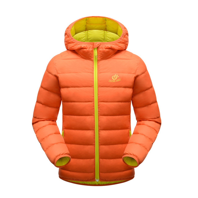 New arrival children's brand down jacket &coat thick warm girls boys winter down jackets  fashion hooded kids down coat outdoor