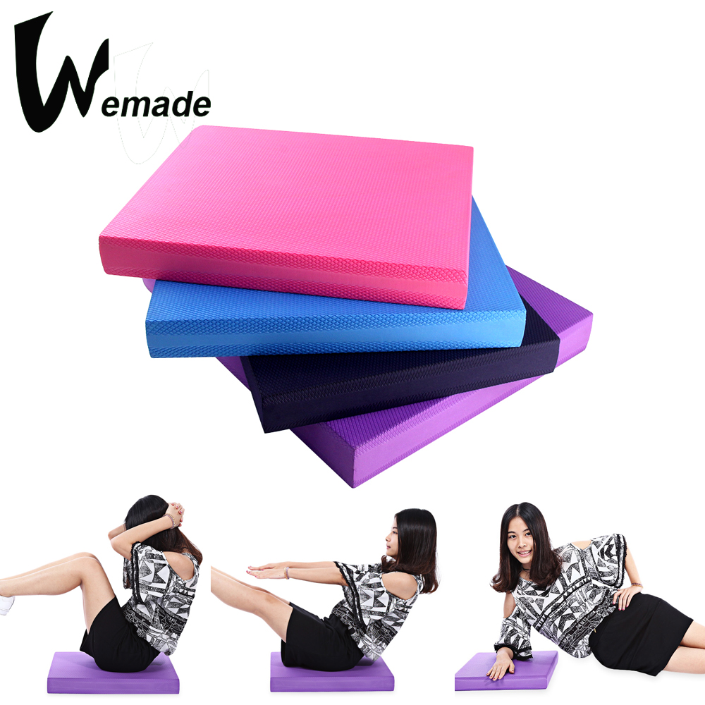 Balance Pad TPE Yoga Mat Pad for Stability Training Fitness 40 X 50 X 6CM