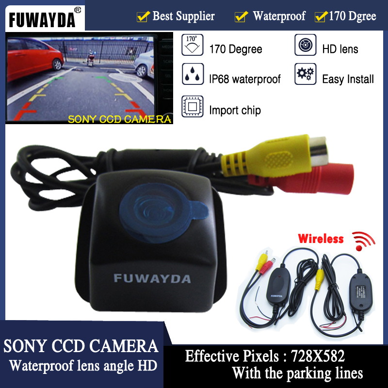 FUWAYDA Free Shipping Wireless SONY CCD  Car Rear View Reverse Backup CAMERA for Toyota Prius 06-10 Camry 09 10 Aurion 06-11