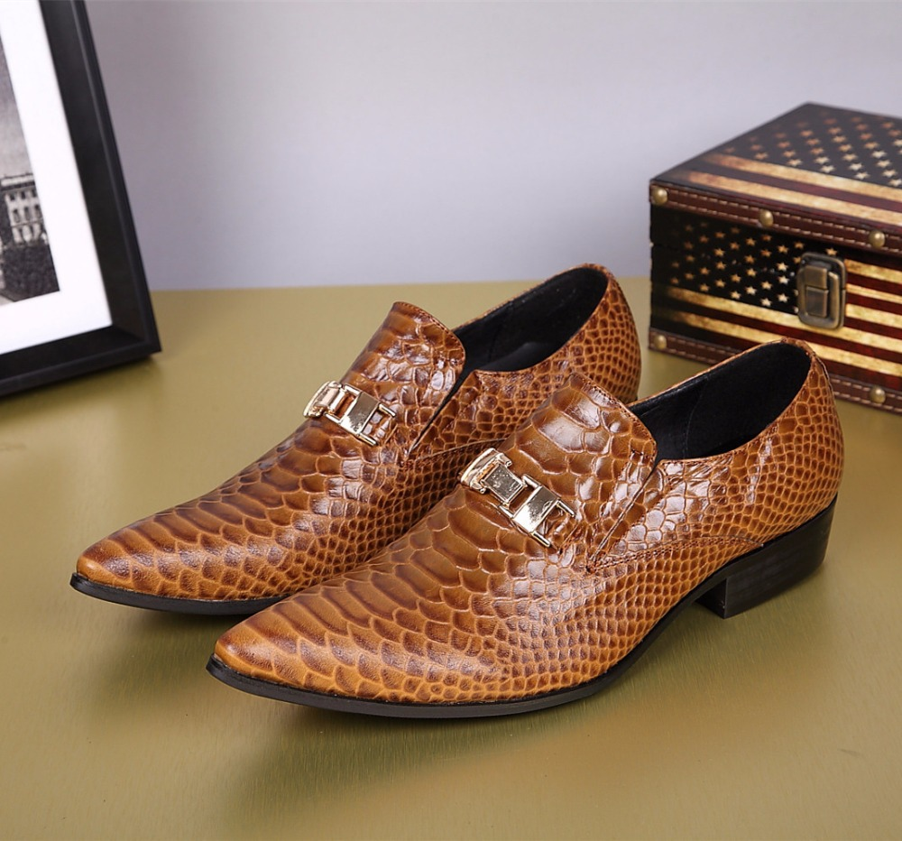 Big Heel Mens Dress Shoes
