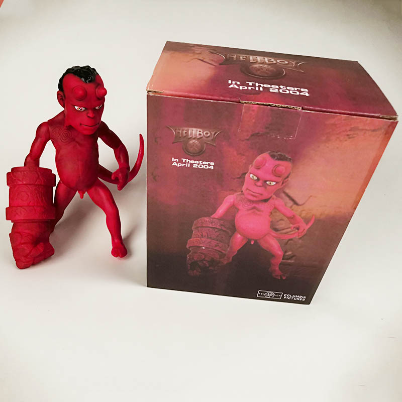 20cm MEZCO Hellboy Series Includes Samaritan Handgun Anung Un Rama Mike Mignola Baby Variant Comic Movie Toys Doll for kids gift image