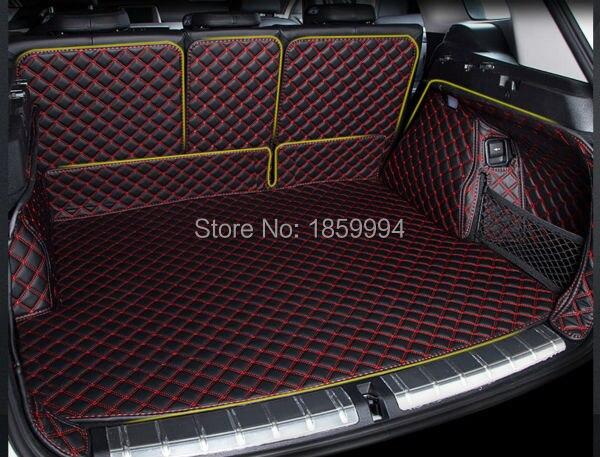 para 2016-2018 BMW X1 F48 trasero de la cola del maletero del coche - Accesorios de interior de coche